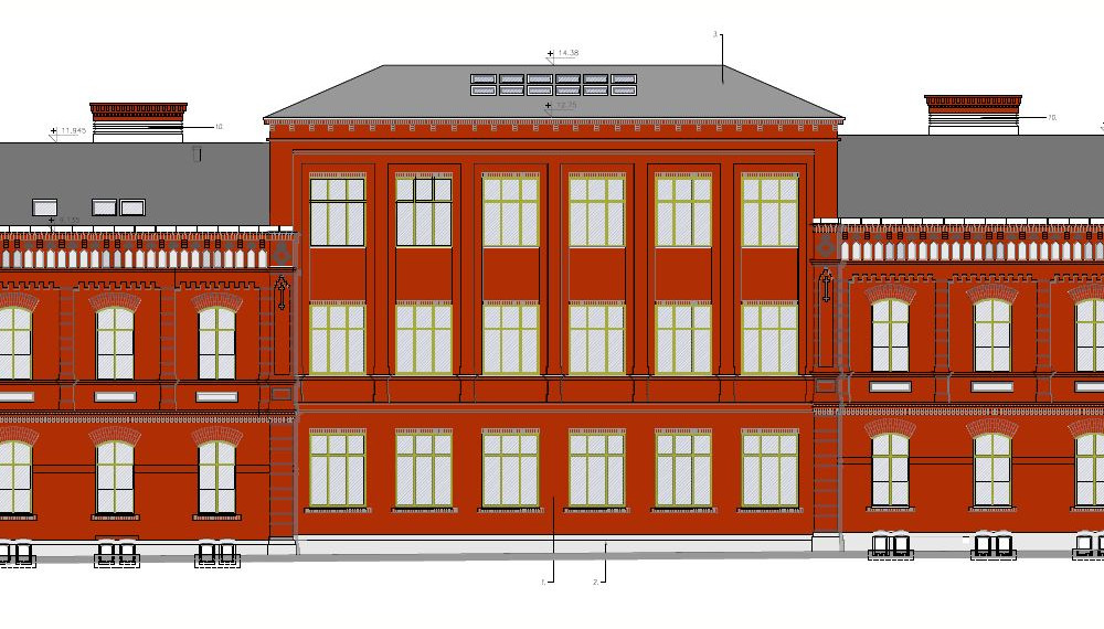 Projekt Akademickiego Centrum Designu